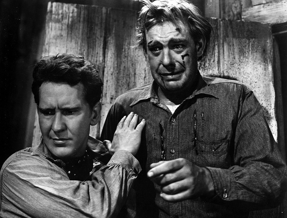 In of Mice and Men who is to blame for lennie's death?