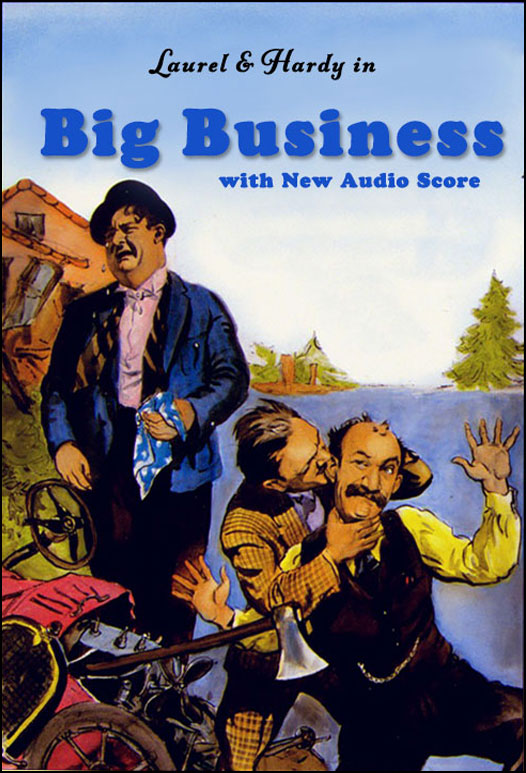 Laurel & Hardy: Big Business